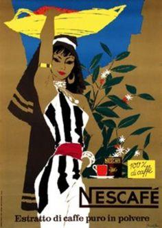 Donald Brun, Nescafe 1954