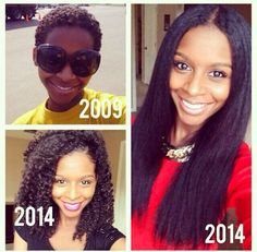 Do you need some inspiration  for your natural hair growth journey? Here you go!     Source: Pinterest     Ebony/ @ebonybomani     Jess of ...