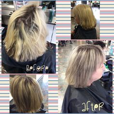 Beautiful blonde foil using wella color 30G 6/0 and 60G 20 vol  Products used would be kera care leave in conditioner, Sebastian hairspray and the wella oil #blondehair#foils