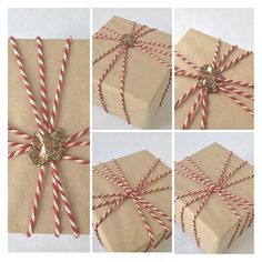 Twine and sealing wax is all it takes to decorate your packaging for a great old world feel!