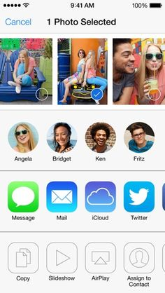How to use AirDrop to share Photos, Videos, and other Files in iOS 7