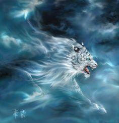 Deus Tigre Branco