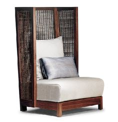 Kenneth Cobonpue : Collections : SUZY WONG : Easy Armchair, high back
