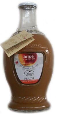 Персиковый нектар с мякотью | продукт из Армении