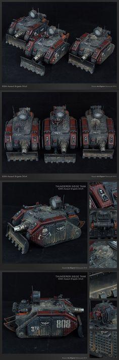 Thunderer squadron _ Death Korps of Krieg