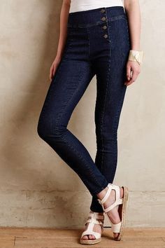 Pilcro Superscript High-Rise Jeans - anthropologie.com #anthrofave