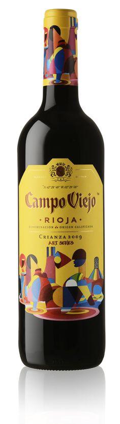 Campo Viejo Crianza #taninotanino #vinosmaximum