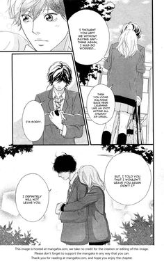 Ao Haru Ride 49 at MangaFox.me I dont believe anything on here. I just play shuffle This hand round is really shitty I have no idea where you are and I can finally say I need someone and not just anyone. Specifically you and onlybyou since I remembered school.. Idk when I came back with those memories so did my love in full.. And anxiety And I don't rely on you You never keep close. You are always far away and hardly visible. If there was a you that missed Halloween in 2010. That night broke