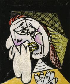 Weeping Woman with Handkerchief Pablo Picasso Spain, 1937 Oil on canvas