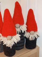 Janniches hobbyrom: Vinveske - julenisse siden det nå kryper mot den tiden...