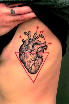 Two Triangle Tattoos On Ribs   Tattoes Idea 2015 / 2016