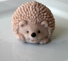 Hedgehog Honeysuckle Soap - would be a cute Easter gift!