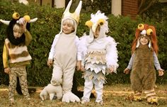 Familie Halloween Kostümidee #3: Wo die wilden Kerle wohnen