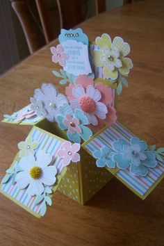 Blossomink Buds Box -  by Janet Hill