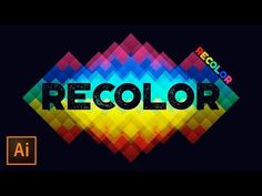How to Use Recolor Artwork in Adobe Illustrator - YouTube