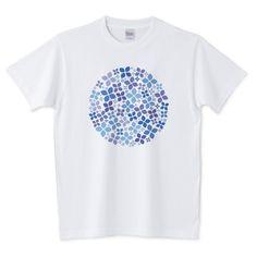 あじさいA 5.6オンスTシャツ (Printstar)