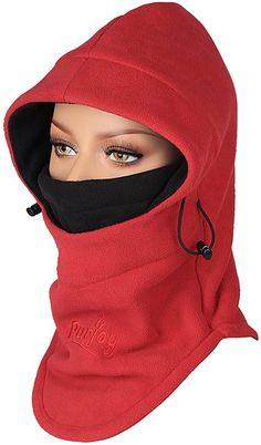 Winter Wear, Winter Hats, Mouth Mask Fashion, Horse Riding Clothes, Black Neck, Full Face Mask, Balaclava, Neck Warmer, Sewing Clothes