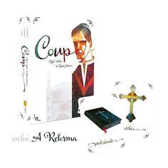 Coup na edição brasileira que é lindona está chegando! #DeliDaPersy #cardgames #coup #funboxjogos
