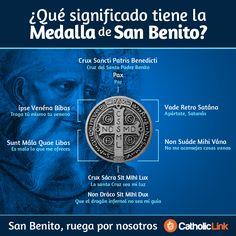 Infografía: ¿Qué significado tiene la medalla de San Benito?