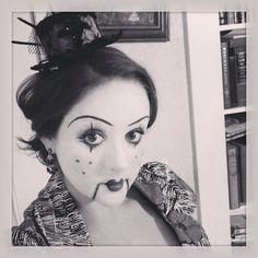 Marionette Halloween makeup