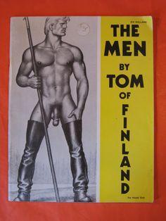 The Men By Tom of Finland / Touko by Pistilbooks on Etsy
