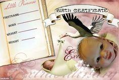 Nora birth certificate