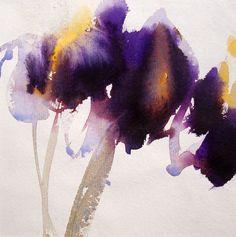 David Ross ~ Aurelie, 2012 (watercolor)