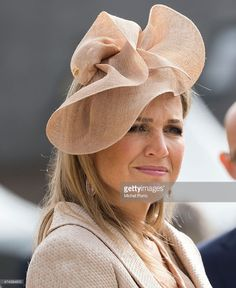Queen Maxima of The Netherlands arrives to open the new Koninklijke Kentalis diagnostic care education centre for people with a severe hearing and or vision disability on May 22, 2015 in Zoetermeer, Netherlands. (Photo by Michel Porro/Getty Images)