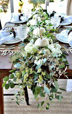 Rattlebridge Farm: Thanksgiving Tablescape Blog Hop