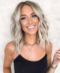Blonde Hair Shades, Blonde Hair Looks, Blonde Hair With Highlights, Brown Blonde Hair, Summer Blonde Hair, Blonde Lob Balayage, Blonde Hair For Brunettes, Blonde Hair Ideas For Short Hair, Balayage Hair Colour