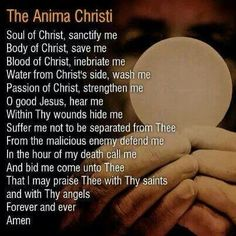 The body of Christ!!