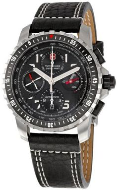 Victorinox Swiss Army Men's 241382 Alpnach Black Dial Watch