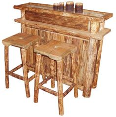 Бар Log Furniture, Garage Design, Hobbies And Crafts, Indoor, Table, Home Decor, Barbell, Interior, Decoration Home