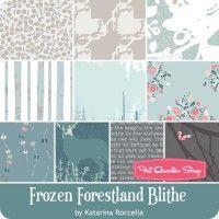 Frozen Forestland Blithe Fat Quarter BundleKatarina Roccella for Art Gallery…
