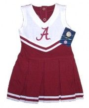 Charlotte's first cheerleading outfit?