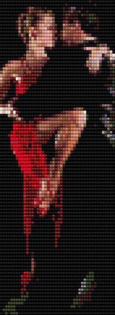 Tango Couple Peyote Bracelet Beading Pattern by BellestriOriginals