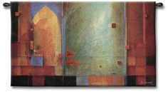 Archways and Abstracts 53 Wide Wall Tapestry -