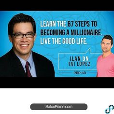 http://ift.tt/238VMGY Tai Lopez:  Learn the 67 Steps to Becoming a Millionaire How to Live the Good Life. - PEP 43 #twitter  Why its important to know your business destiny and how to find it  67 thing you need to do to become a millionaire What is the Association bias and how is it ruining your life? Using the Rule of 33s to make 2014 your breakout year How to pitch a billionaire in an elevator The 4 circle exercise you can use to find your lifes destiny Who is the bouncer in your brain?…