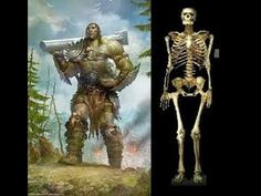 Giant skeletons of an unidentified human race have been excavated around the world, lending credence to the strange stories of Nephilim in ancient texts. According to the book of Genesis, Nephilim. Ancient Mysteries, Ancient Artifacts, Historical Artifacts, Illuminati, Ancient Aliens, Ancient History, Human Giant, Giant People, Big People