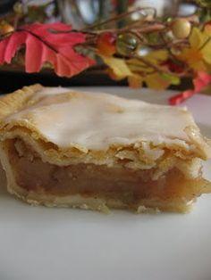 Apple Slab Pie...This looks amazing!