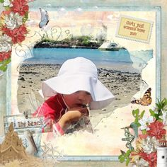 "What better to do on a sunny day than to go to the beach? ""Beach Day,"" a digital scrapbooking collection by Snickerdoodle Designs, has all you need to scrap your lazy summer, sunny days at the beach, but is also versatile enough to use for any of your water adventures. Whimsical fish, a stunning sandcastle, a weathered lighthouse, and beautiful sea pearls are just part of what you will find in this unique kit."