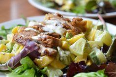 Tropische kip salade - Oerkracht voedingsadvies