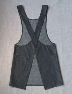 no sew cross back apron - Buscar con Google More