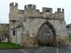 One of the four gateways to York City