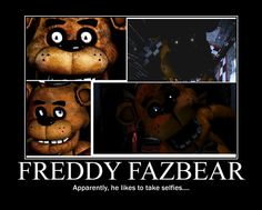 Freddy has the best selfies I have ever seen. Cartoon As Anime, Anime Fnaf, Animatronic Fnaf, Fnaf Sister Location, Fnaf 1, Freddy Fazbear, Fnaf Drawings, Best Horrors, Epic Games