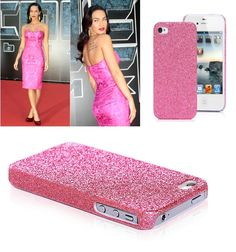 Pink Glitter iPhone 4 case.