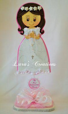 Christening Centerpiece First Communion di LarasCreationsShop
