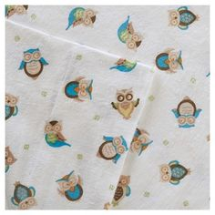 Flannel Sheet Set (California King) Owl Sand, Beige