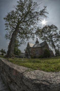 The little church by RobinHoude, via Flickr