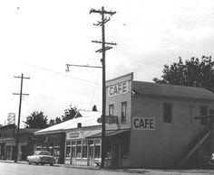 Downtown Jefferson, Oregon - 1961